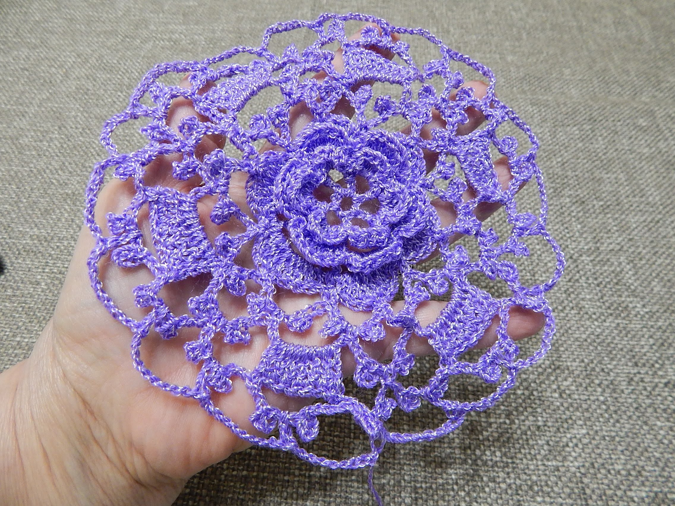 Flor Linda Crochet