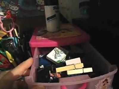 Parte 1. Mi area de trabajo (Materiales y otras cositas lindas) Craft Area