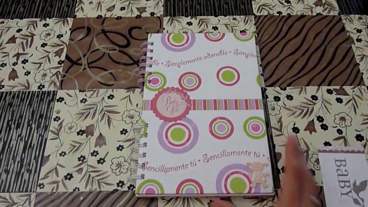 Scrapbook: Baby Book (Libro de bebé)