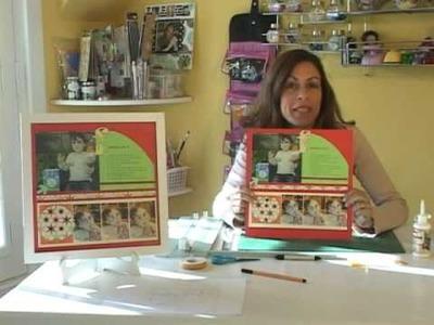 Scrapbooking con Marcia Argentina