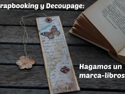 Scrapbooking y Decoupage: Marca-libros