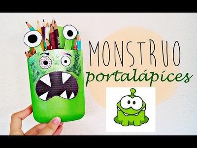 ✄ Tutorial Monstruo Portalápices | Manualidades DIY para NIÑOS