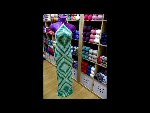 Tutorial vestido ganchillo. DIY crochet dress