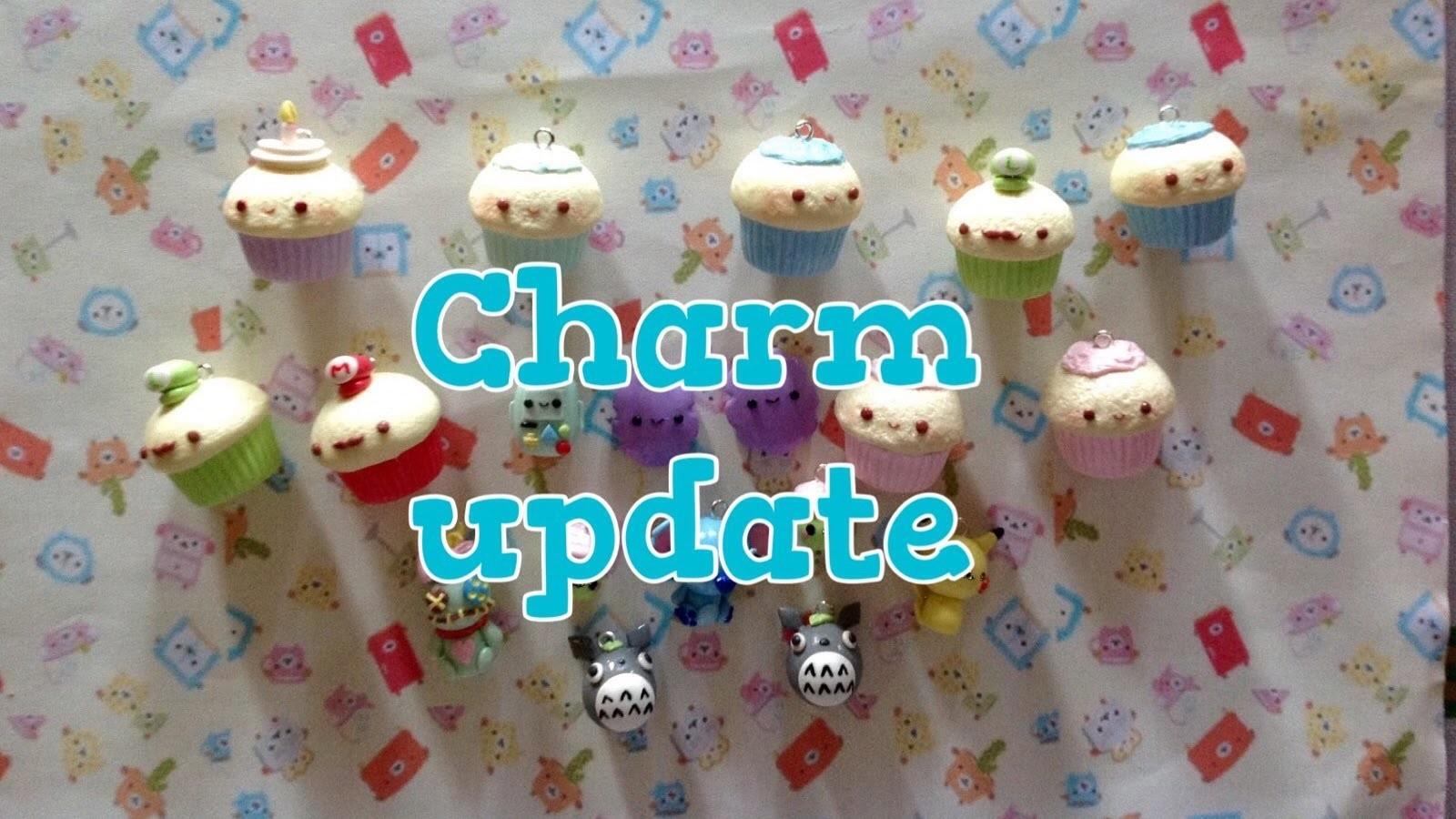 Actualización de figuritas de Porcelana Fría y Arcilla Polimerica. Polymer Clay charm update