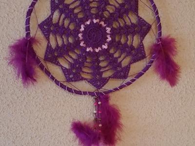 Atrapasueños en crochet (1-2)