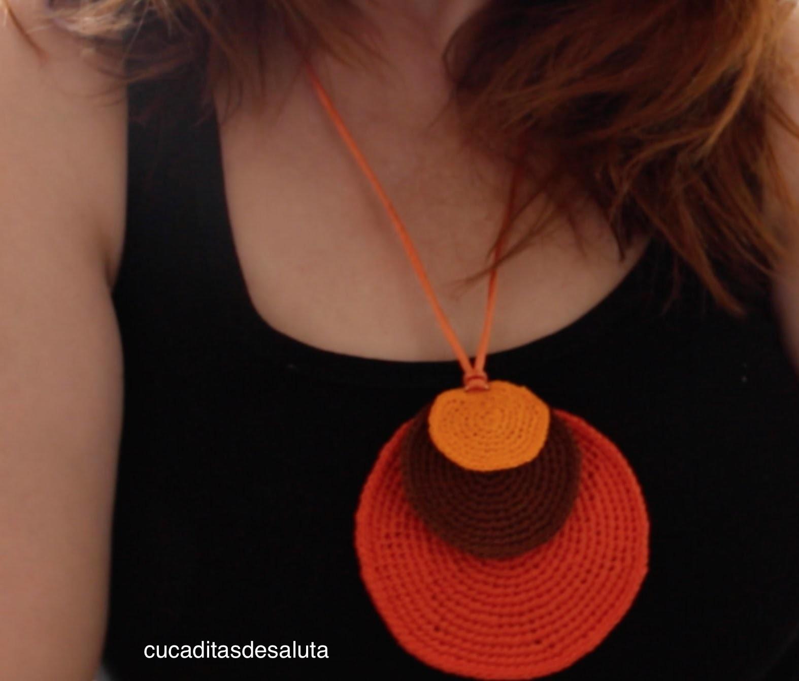 ¡ COLLAR ! De colores a Crochet paso a paso . DIY