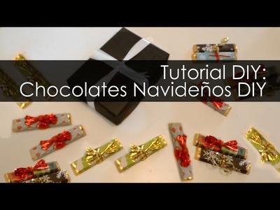 Chocolates Navideños DIY Tutorial Regalo Original