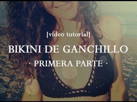 Cómo hacer un bikini de ganchillo [PARTE 1] | How to crochet a bikini