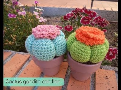 Cómo hacer un cactus amigurumi - How to make amigurumi cactus