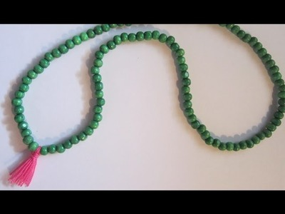 Como hacer un Japa Mala - How to make Japa Mala