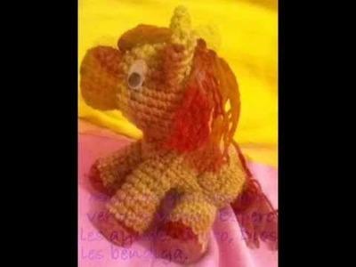 Cómo tejer un pony amigurumi