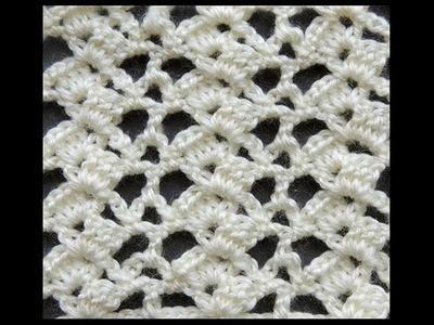 Crochet : Punto Escalera # 4