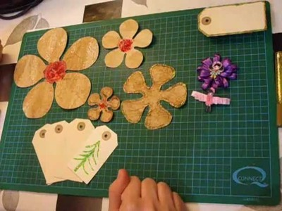 Decora y personaliza las flores de papel. Paper flowers decorating