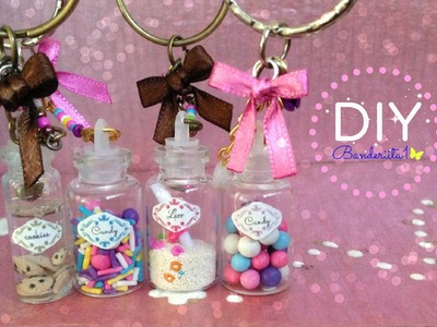 Dije Botellas de Cristal Tutorial DIY-Mini Bottle Charms DIY
