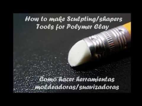 DIY ♥ Herramientas de Arcilla Polimérica ♥ Polymer Clay tools ♥