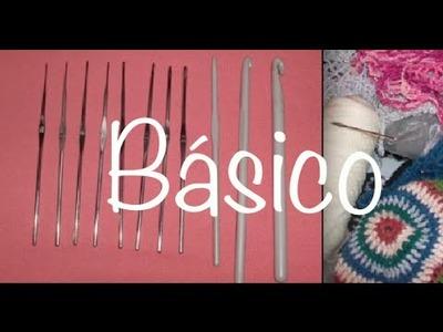 Ganchos y Estambres Sugeridos Ganchillo, Hook and Yarn Options to Crochet DIY