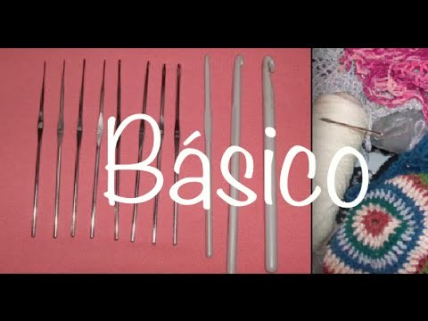 Ganchos y Estambres Sugeridos Ganchillo, Hook and Yarn Options to Crochet DIY
