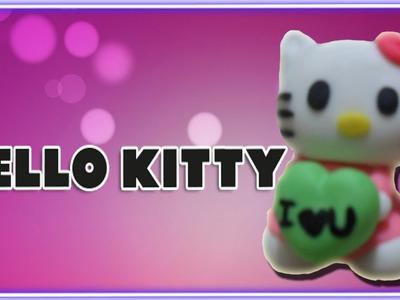 Hello Kitty en Cerámica al Frío. Hello Kitty in Polymer Clay