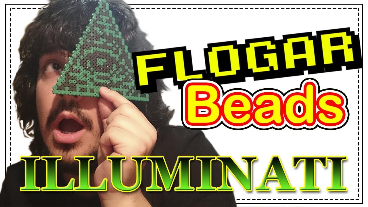 ILLUMINATI - DIY- Tutorial Pearl.Hama Beads para Gamers - FloGar o.O