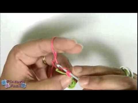 Libro De Pintura Para Navidad-Como Hacer Flores de Crochet How to Crochet a Flower DIY Flores Amigur