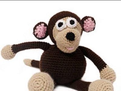 Monos Juguetes de Crochet y Punto, Monos Juguetes Infantiles