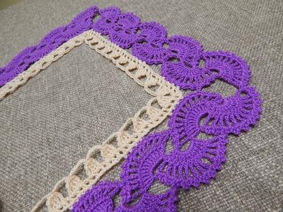 Orilla # 14 en 4 Esquinas Crochet
