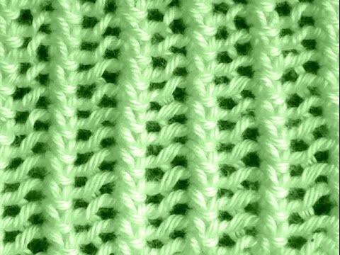 Como Tejer Punto Encaje Francés-French Lace Knitting 2 Agujas(108)