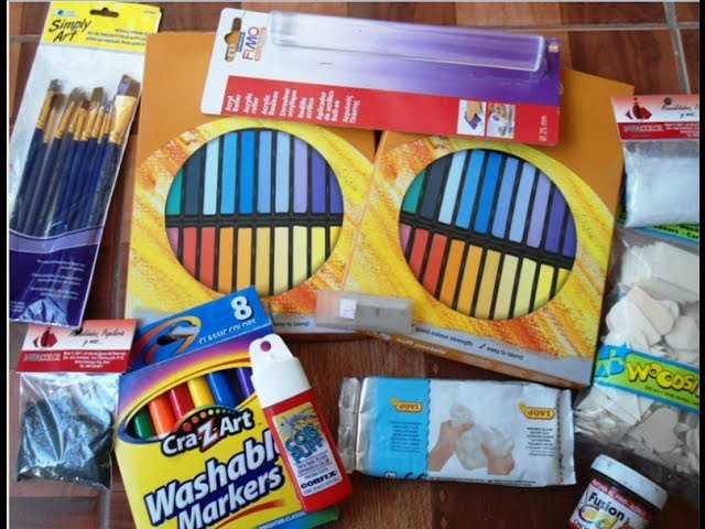 My new Craft Supplies Haul #1 | Compras #1 Mis nuevos materiales para manualidades