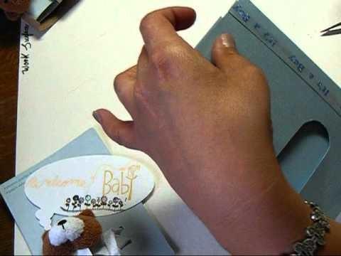 Scrapbooking en español-Baby shower Gift Card