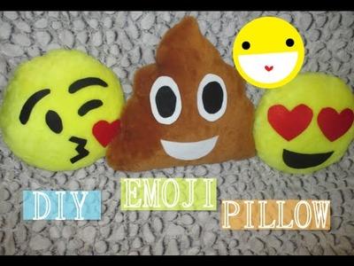 ✂ DIY- Cómo hacer un cojín de emoticonos- Cute emoji pillows (Especial San Valentín).Nerea Iglesias