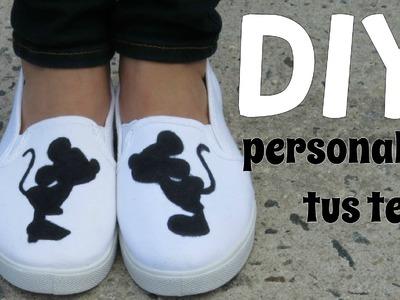 DIY PERSONALIZA TUS TENIS | Lore Peñaloza