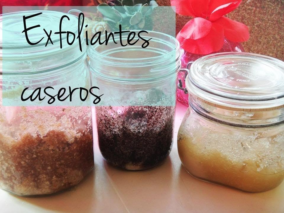 DIY- Exfoliantes caseros!