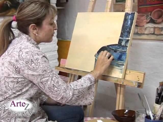 Los secretos de la pintura en acrilico con espátula y pincel (clase completa)