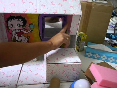 Manualidades: Organizador De Accesorios Betty Boop - JuanCarlos960