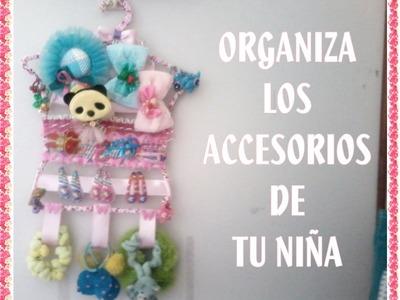 ORGANIZADOR PARA ACCESORIOS DE NIÑA.Novedadesconkatherine.