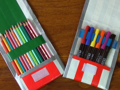Regreso a clases - Estuche para útiles escolares - Manualidades para todos