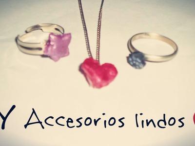 DIY - Haz Accesorios (Anillos, Pulseras, Aros,Collares) ♥ MUY FACIL #mArtesanias @yanibrilz