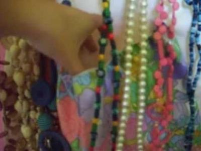 Organizador collares, pulseras, anillos y pendientes.