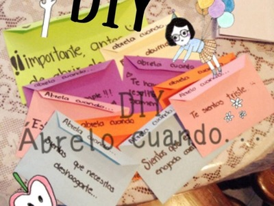 """""""Ábrelo Cuando"""" DIY ❤️"""