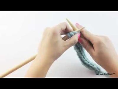 Aprende a tejer el iCord con dos agujas - Cómo tejer