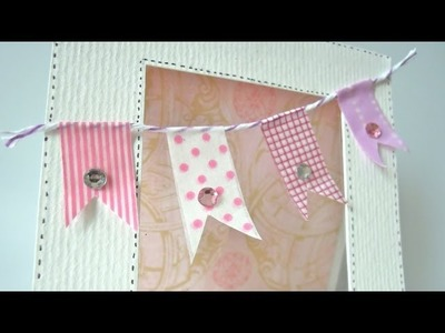 Como hacer banderolas de papel. MUY FÁCIL