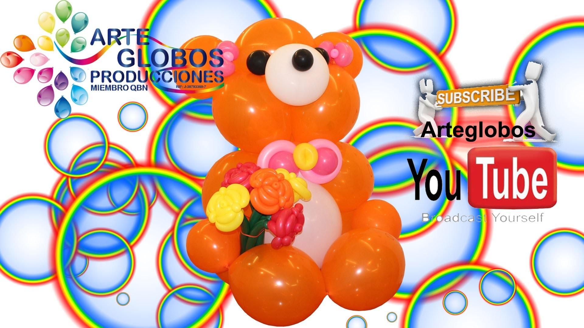 Curso de Globos Osito Cariñoso Parte I Balloons