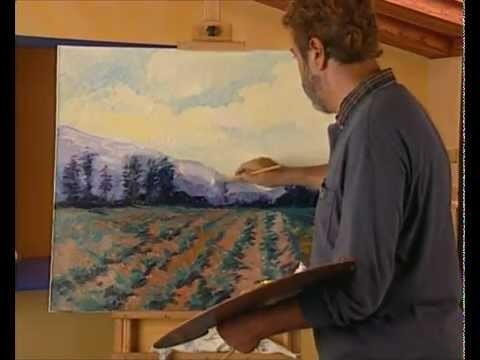 Curso practico de dibujo y pintura oleo profundidad atmosferica
