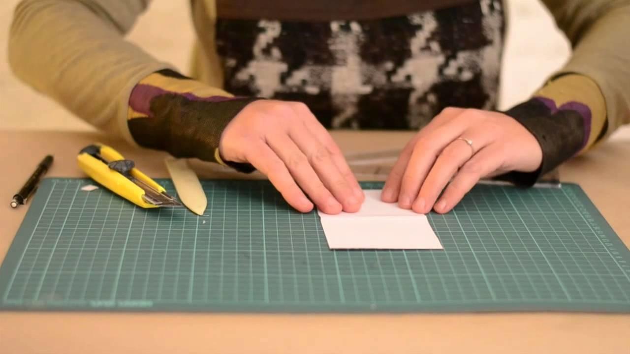 DIY - Cómo hacer una bolsa de papel