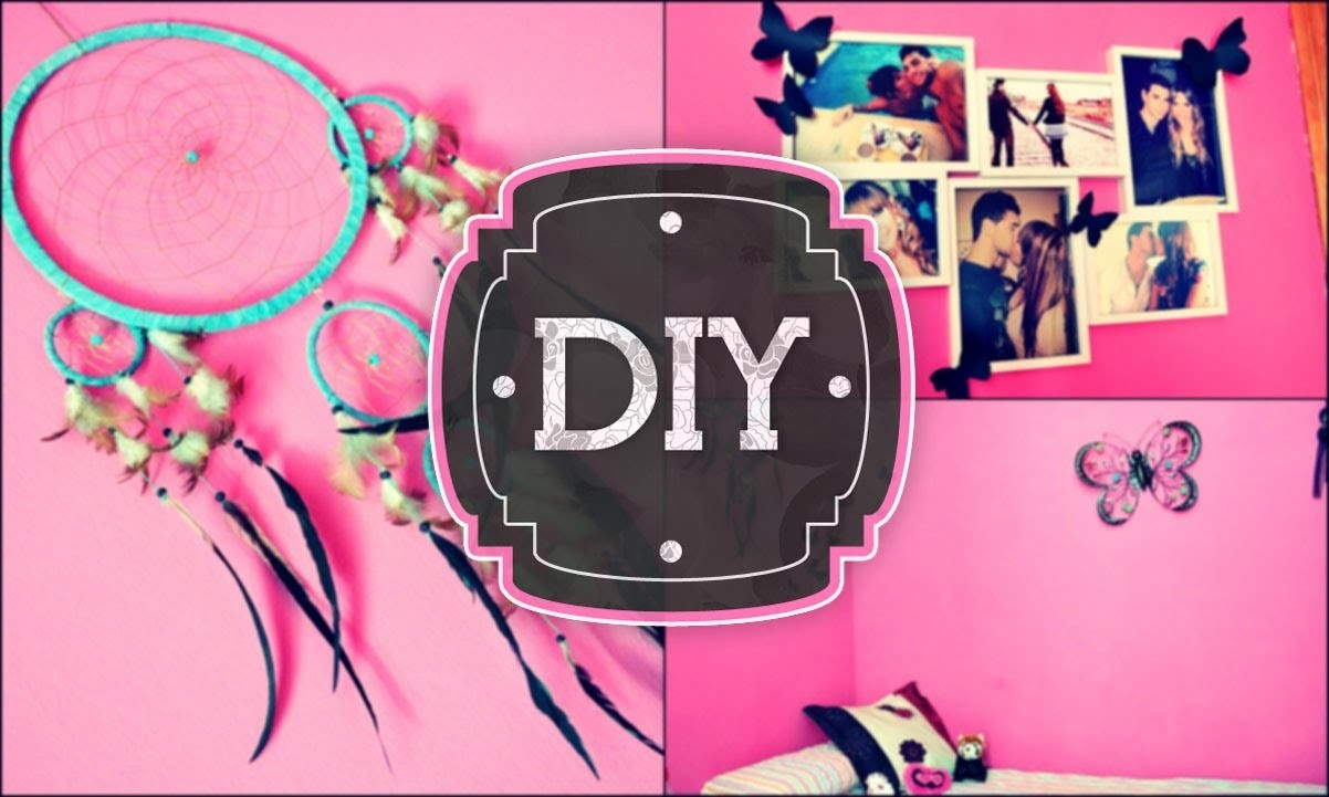 DIY Decora tu cuarto ♥ económico. Decorate your room ♥