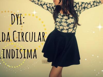 DIY. Falda Circular (Sin Maquina de Coser) - Mapo ♥