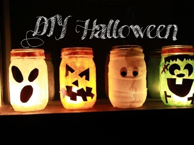 DIY- Linternas para Halloween!