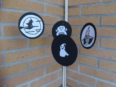 DIY: Manualidades halloween (movil colgante )