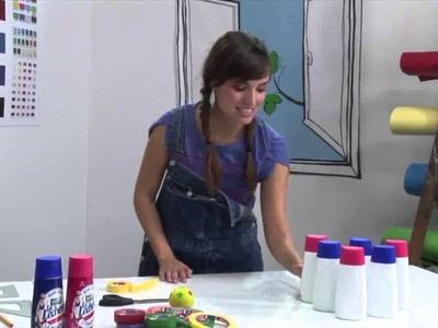 Juego de bolos con los envases vacíos de La Lechera - Manualidades Nestlé