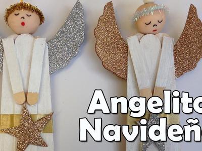 Manualidades de Navidad - Angelito Navideño - Manualidades para todos